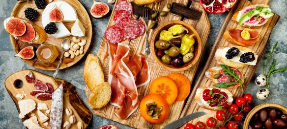 Traditional Charcuterie Board